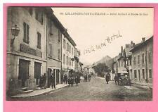 CPA  - COLLONGES  FORT L'ECLUSE  -  01 -  HOTEL JUILLARD ROUTE   DE GEX - AUTO..
