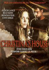 CHRISTINA'S HOUSE / BRENDAN FEHR - BRAD ROWE /*/ DVD HORREUR NEUF/CELLO