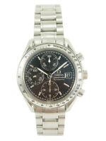 OMEGA Speedmaster Chronograph Automatic Date Watch 3513.50 Serviced w/Box, Cards