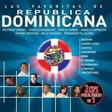 NEW Las Favoritas De Republica Dominicana (Audio CD)