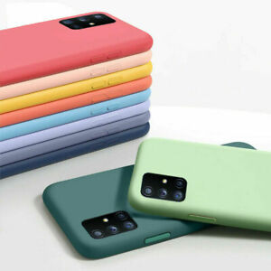Liquid Silicone Protective Case For Samsung Galaxy S21 S20 FE A52 A72 A21S Cover