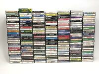 Lot of 196 Classic Pop Country Jazz Vocal Cassette Tapes. Alot of Good Stuff!