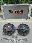 3 ROW For Ford EF EF2 EL NF NL DF DL Falcon Fairline Aluminum Radiator & FANS