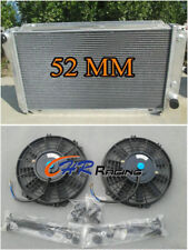3 ROW For Ford EF EF2 EL NF NL DF DL Falcon Fairline Aluminum Radiator & FANS