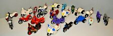 Lego Motorcycles for Minifigures: Dirt Bike Police Scooter Sport Captain America