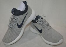 new style 382bf c2e0a Nike Roshe Two Flyknit V2 Pale Grey Women s Running Training Shoes Size 8