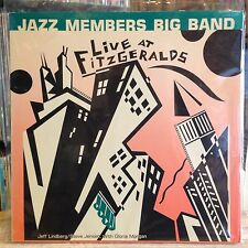 [SOUL/JAZZ]~NM LP~JAZZ MEMBERS BIG BAND~Live At Fitzgerald's~[1985~SEA BREEZE]