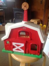 Used Fisher Price Little People Farm Building.  What You See Is What You Get.