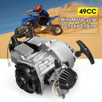 49cc 2 Stroke Pull Start Engine Motor For Pocket Bike Mini Dirt Bike ATV