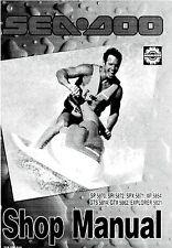 1994 SeaDoo SP SPI SPX GTS GTX XP Explorer PWC Shop Service Repair Manual 94 CD