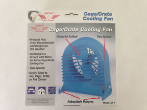 Metro Cage Fan For Animals Dogs Cats