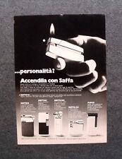 [GCG] M737 - Advertising Pubblicità - 1972 - ACCENDINI SAFFA