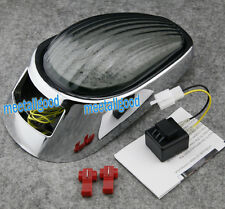LED Tail Light Integrated Turn Signal Fit For Kawasaki Vulcan VN2000 2005-2007