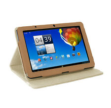 "Acer Iconia Tab A510 / A700 10.1 ""Tablet Sahara marrón natural cáñamo Funda"