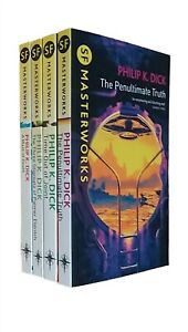 Philip K Dick 4 Books Classic Science Fiction Three Stigmata Time Out Joint New