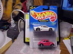 Hot Wheels 2 Auto Confezione Perle Autista Serie Jaguar XJ220 & VW Bug
