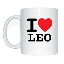 I LOVE leopardato Tazza Caffè