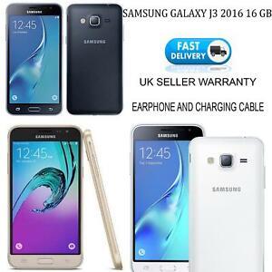 Samsung Galaxy J3 SM-J320 2016 16GB Unlocked Smart Phone Black 4G LTE 8M