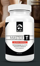 Master T Alpha Boost | Testosterone Booster - Naturally Designed to Increase ...