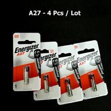 4 Pcs/Lot FRESH Energizer A27 BP1 12V CAR Boat Battery Alkaline Exp 2023 #agtc