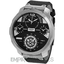 *NEW* MENS DIESEL MACHINUS CHRONOGRAPH 4 TIME ZONE WATCH - DZ7379 - RRP £299