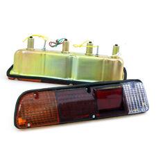 FIT DATSUN NISSAN PICKUP TRUCK 620 NEW REAR BUMPER TAILLIGHT LAMP PAIR SET 72-79