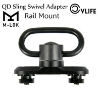 M-lok QD Sling Mount Sling Swivel Adapter Attachment for M-lok Rail Hunting