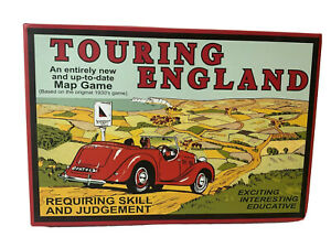 Touring England 1930's Style Board Game 2012 Complete  Retro Vintage