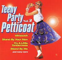 Teeny Party Petticoats 2 - CD NEU Helen Shapiro Tommy Roe Lynn Anderson Drifters