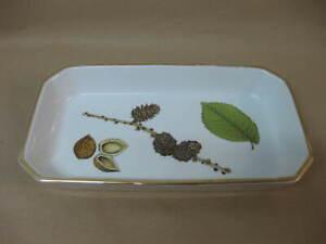 """Royal Worcester Wild Harvest Oven Dish / Serving Dish ~ Fine Porcelain ~ 11 1/4"""""""