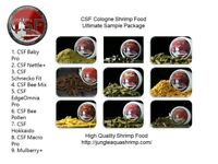 Cologne Shrimp Food CSF Ultimate Package for Crystal Bee Cherry Shrimp Inverts