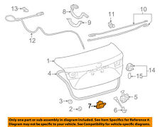 TOYOTA OEM Trunk Lid-Trunk Switch 8494550010
