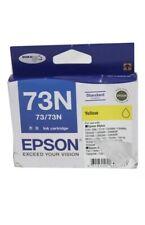 1x Genuine Epson 73N Yellow T0734 Cartridge for TX200 TX300,TX550,NX220,TX600
