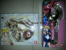SAILOR MOON COMPACT MOON STICK ROD BANDAI LIMITED ED. RARE NEW