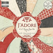 """First Edition J'Adore Sample Paper Pack (16 sheets x 6x6"""" size)"""