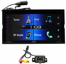 "JVC KW-V330BT 6.8"" Car DVD Receiver w/Bluetooth/Siri Eyes/iPhone/Android+Camera"