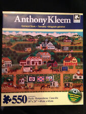 """Anthony Kleem General Store 550 Pc Jigsaw Puzzle NEW Sealed 18"""" x 24"""""""