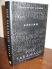 1st/1st Printing SEEING Jose Saramago RARE Modern Fiction NOBEL PRIZE