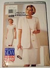 S&S-4568 Jacket Dress Sewing Pattern See & Sew Size 12-14-16 Uncut