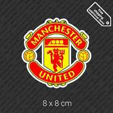 FC Manchester United logo sticker England UK football soccer car bumper