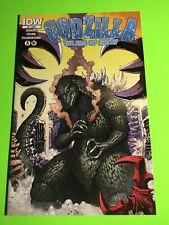 IDW Comic GODZILLA RULERS OF THE EARTH #4 Matt Frank Cover NM+ 1st Print 9.6