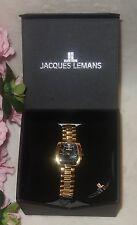 Jacques Lemans Women's 1-1070G Siena Analog Watch new