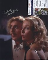 GENE WILDER & TERI GARR SIGNED AUTOGRAPHED JSA COA YOUNG FRANKENSTEIN PHOTO