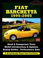 FIAT BARCHETTA SPIDER BOOK 1995-2005 PORTFOLIO BROOKLANDS
