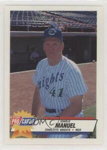 1993 Fleer ProCards Minor League Charlie Manuel #559