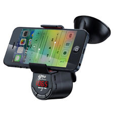 BSR FM09 Smartphone Holder with FM Transmitter