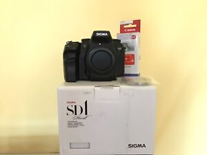 Sigma SD SD1 Merrill 46.0MP Digital SLR Camera - Black (Body Only)