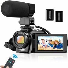 Camcorder Video Camera for YouTube Vlogging Camera Recorder Full HD 1080P 30FPS