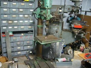 Drill Press Geared Head Made By Arboga Maskiner Type E380  #74403 220 Volt 3 PH