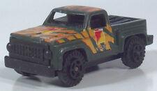 "Marz Karz Toyota Military 6 Pickup Truck 4WD  2.25"" Die Cast 1:77 Scale Model"